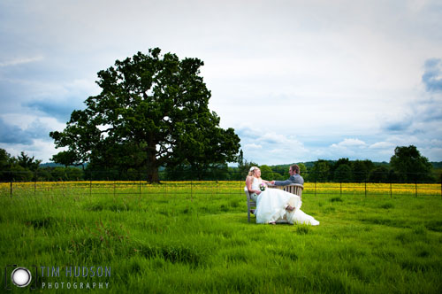 Becky & Jonathan's Wedding Photography - Hill Place Swanmore Hampshire - Tim Hudson Photography